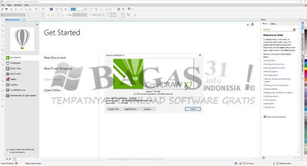 CorelDRAW Graphics Suite X7 17.6.0.1021 Full Version