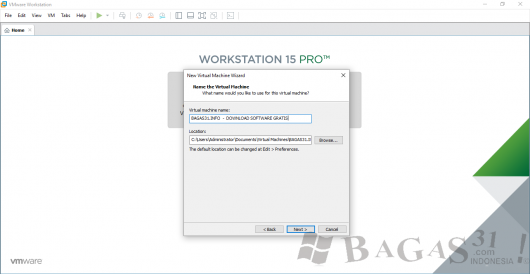 VMware Workstation 15 Full Version 1