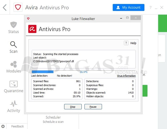 Avira Antivirus Pro 2018 v15.0.43.27 Final Full Version 3