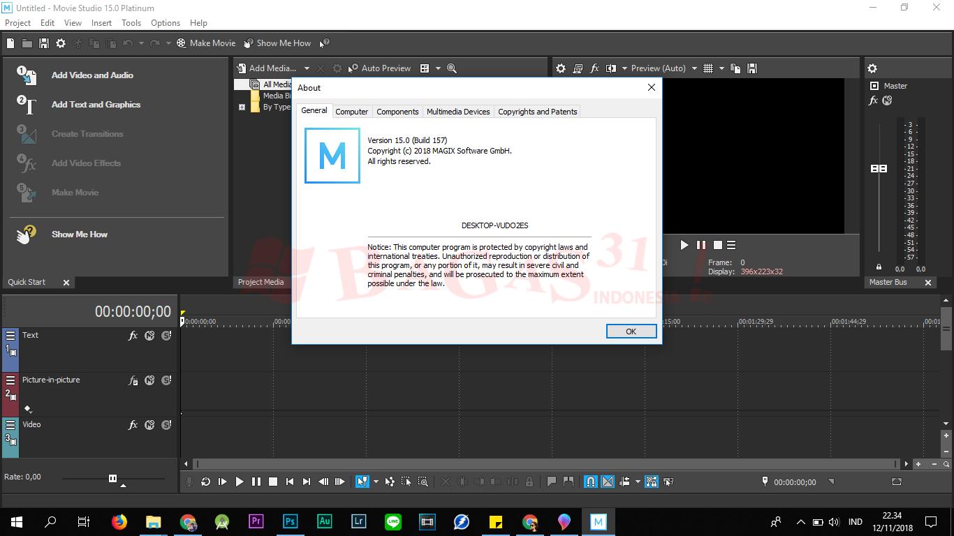 MAGIX VEGAS Movie Studio Platinum 15.0 Full Version 3