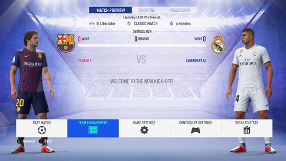 FIFA 19 Full Update Squad Repack