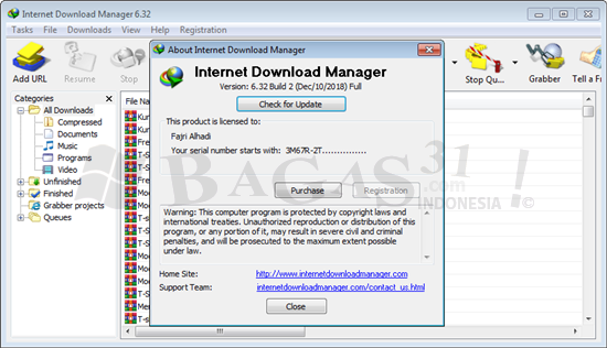 Internet Download Manager 6.32 Build 2 Full Version 1