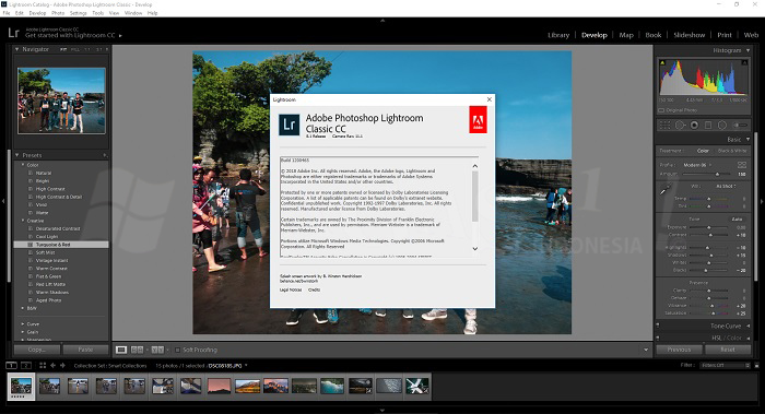 Adobe Photoshop Lightroom Classic CC 2019 8.1 Full Version