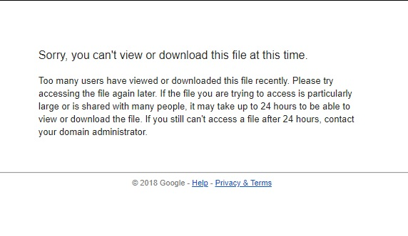 Cara Mengatasi Limit Kuota pada Google Drive