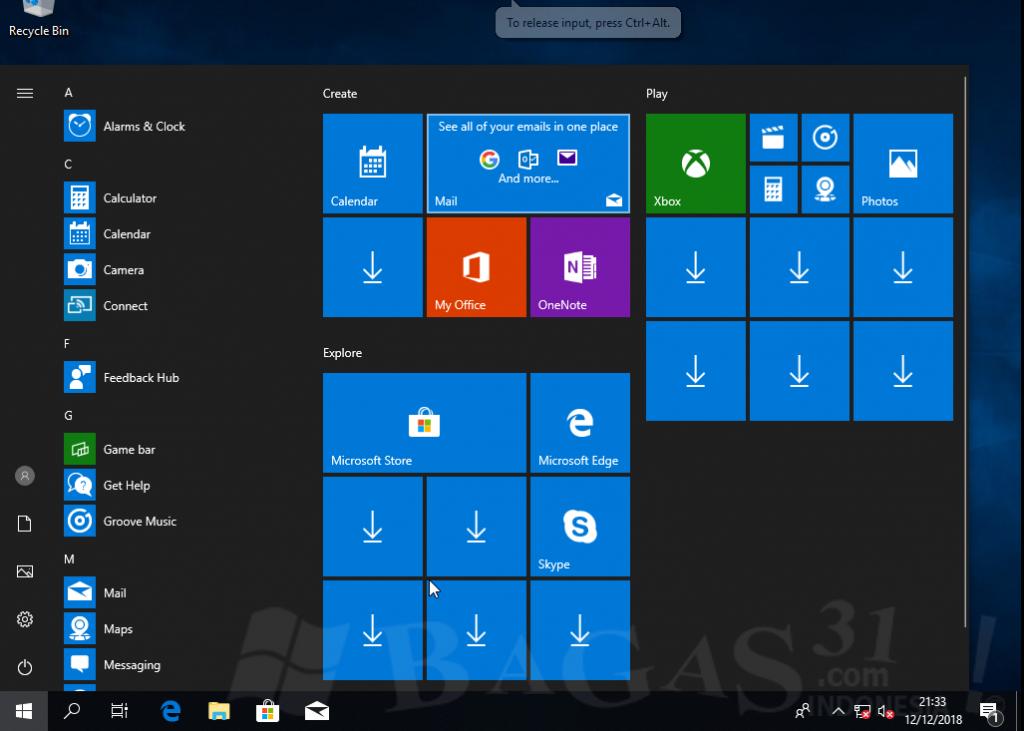 Windows 10 AIO Desember 2018