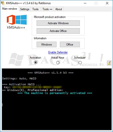 cara aktivasi windows