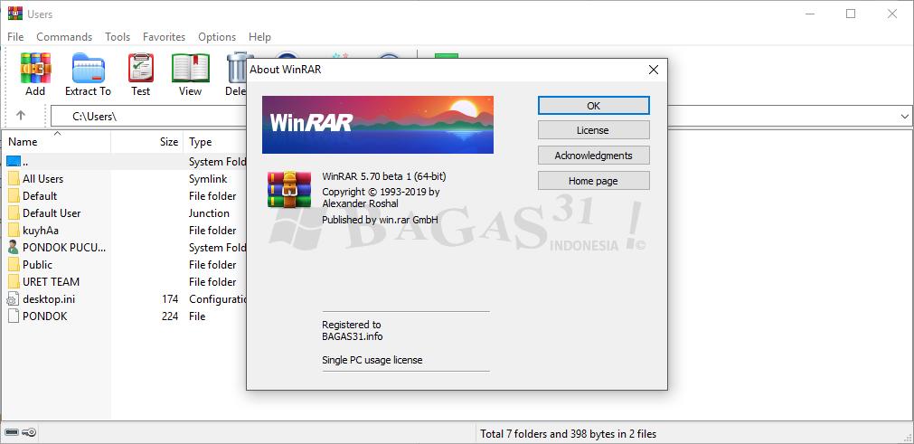 WinRAR 5.70 Beta 1 Full Version