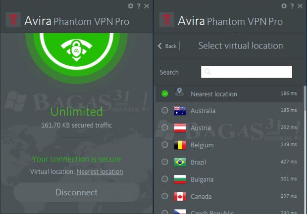 Avira Phantom VPN Pro 2