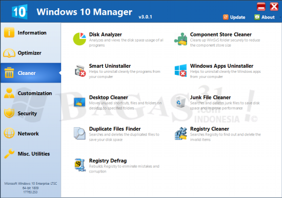 Windows 10 Manager 3.0.1 Full Version 1