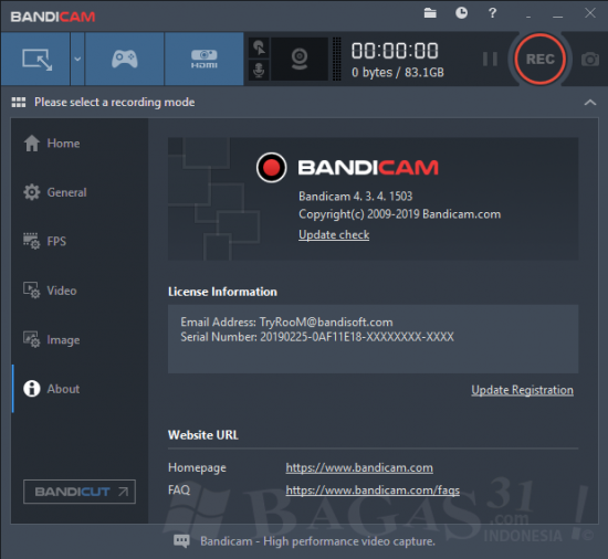 Bandicam 4.3.4 Full Version