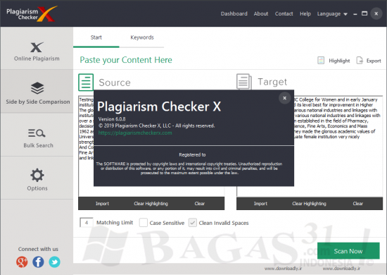 Plagiarism Checker X 6.0.8 Pro Full Version
