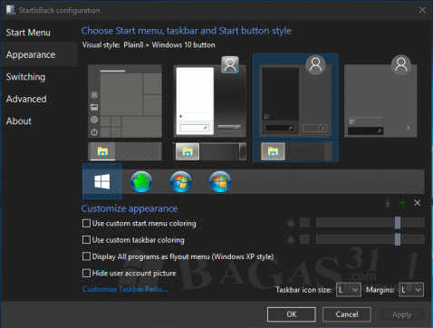 StartIsBack Plus 2.8.1 for Windows 10 & Windows 8.1