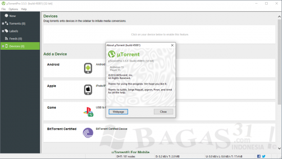 uTorrent Pro 3.5.5 Full Version