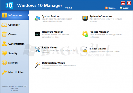 Windows 10 Manager 3.0.2 Full Version