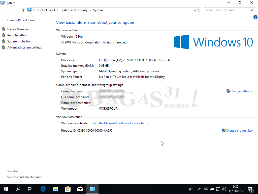 windows 10 pro iso
