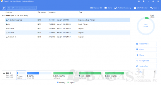 EaseUS Partition Master 13.0 Unlimited Edition Full Version