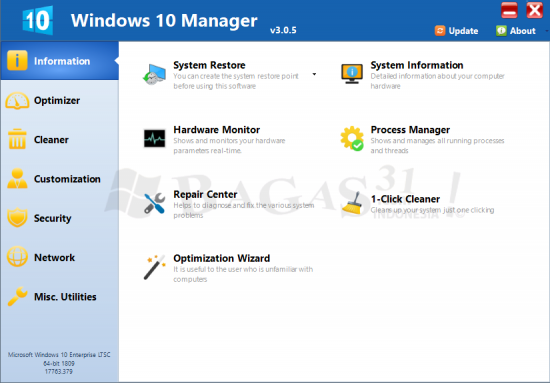 Windows 10 Manager 3.0.5 Full Version