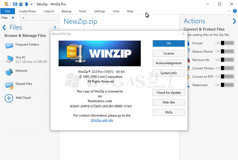 WinZip Pro 23.0 Build 13431 Full Version