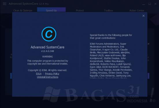 Advanced SystemCare Pro 12.4 Full Version