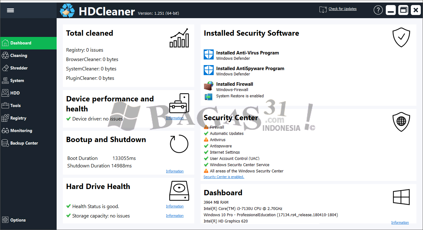 HDCleaner 1.251 Portable