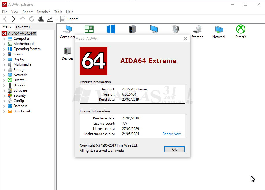 AIDA64 Extreme - Engineer Edition 6.00.5100 Full Version 1