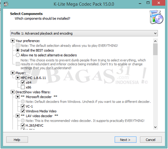 K-Lite Mega Codec Pack 15.0.0 1