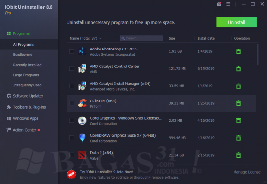 IObit Uninstaller Pro 8.6 Full Version 1
