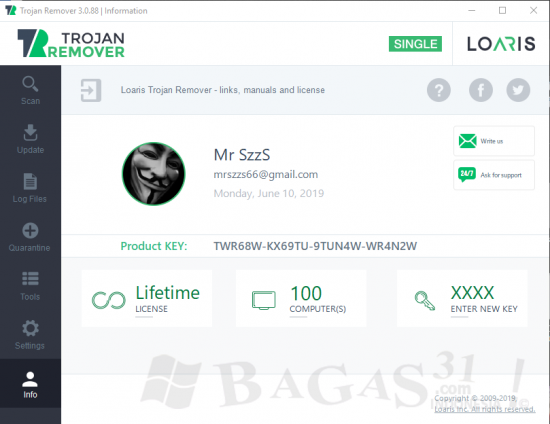 Loaris Trojan Remover 3.0.88 Full Version