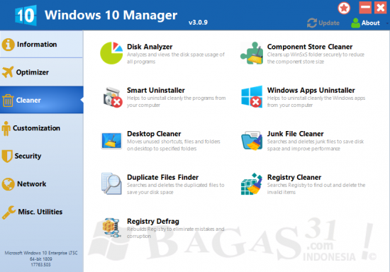 Windows 10 Manager 3.0.9 Full Version