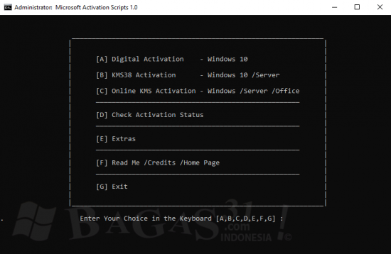 Microsoft Activation Script 1.0 Stable : Windows 10 Permanent Activator
