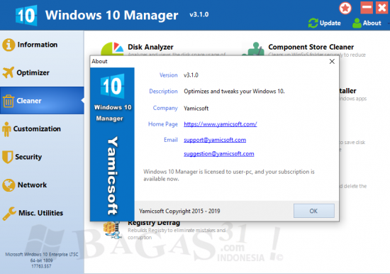 Windows 10 Manager 3.1.0 Full Version
