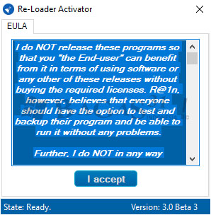 Re-Loader Activator 3.0 Beta 3 Final 1