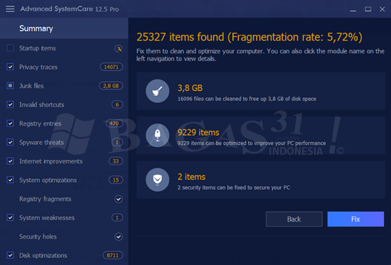 Advanced SystemCare Pro 12.5 Full Version 3