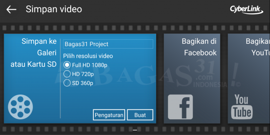 PowerDirector Video Editor 5.4.2 Apk Unlocked