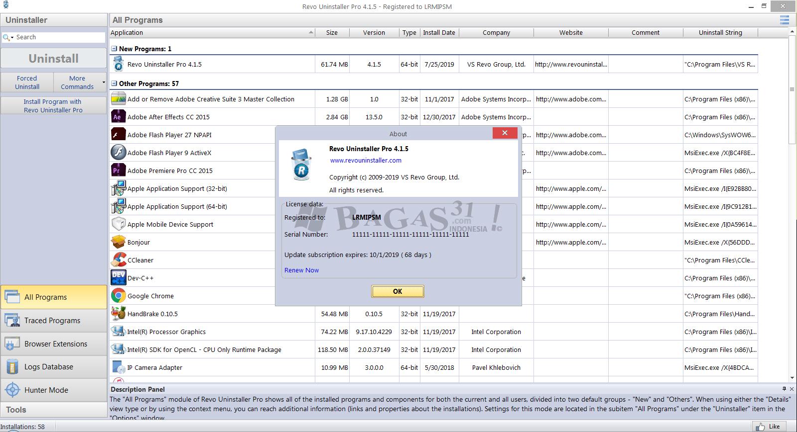 Revo Uninstaller Pro 4.1.5 Full Version 2