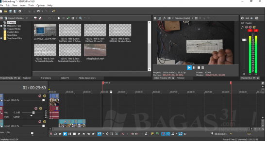 MAGIX Vegas Pro 16 Build 424 Full Version