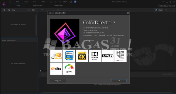 Cyberlink Color Director 7.0.3
