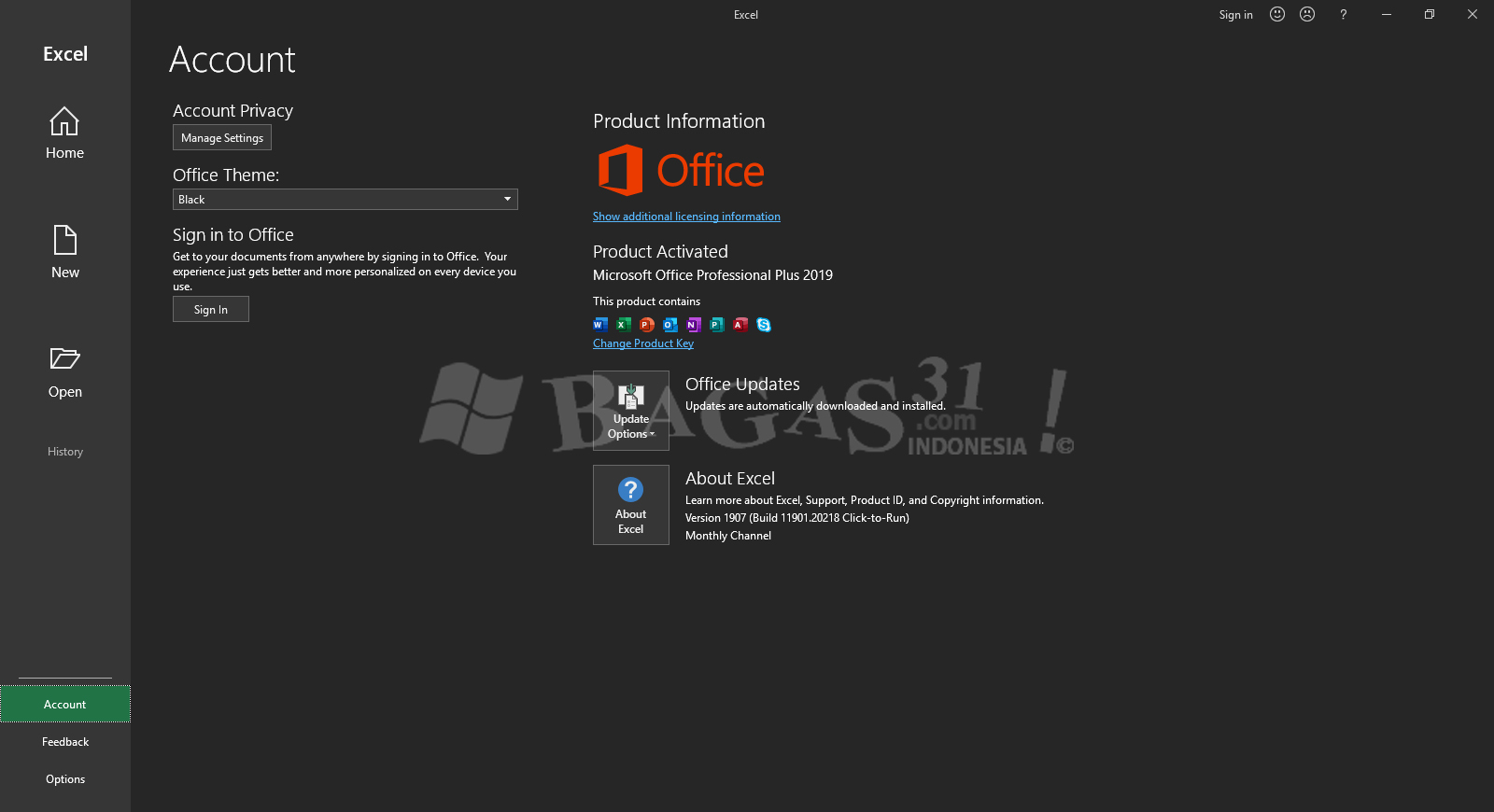 Microsoft Office Pro Plus 2019 Update Agustus 2019 Full Version