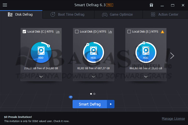 IObit Smart Defrag 6.3