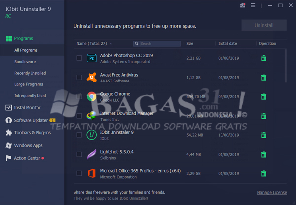 IObit Uninstaller Pro 9.0.1.24 Full Version