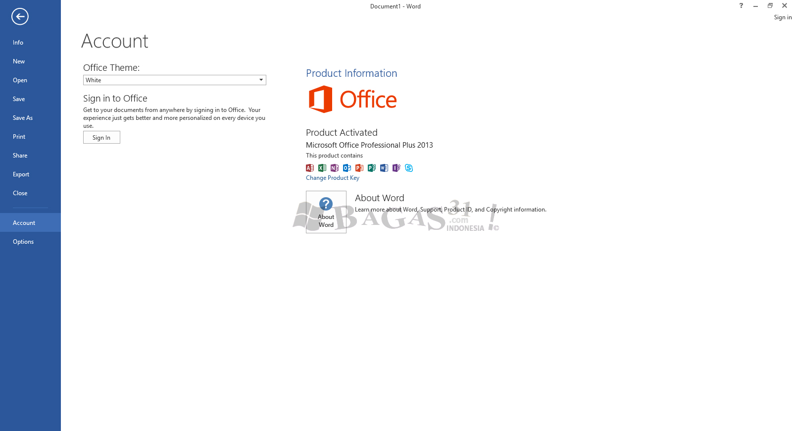 Microsoft Office 2013 Pro Plus Update Agustus 2019 Full Version