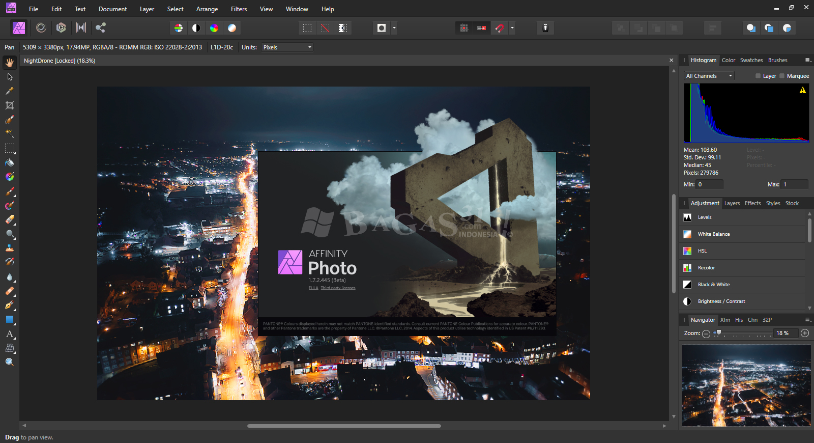 Serif Affinity Photo 1.7.2.445 (Beta) Full Version