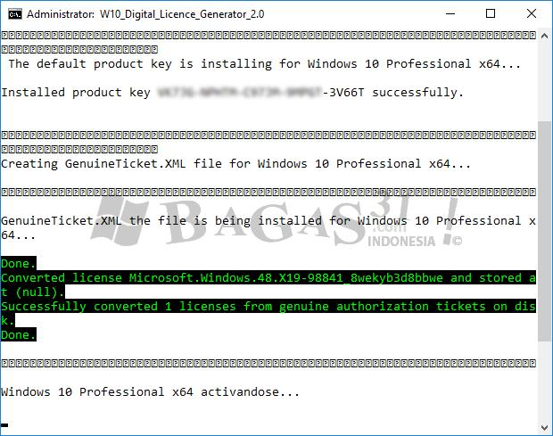W10 Digital License Generator 2.0