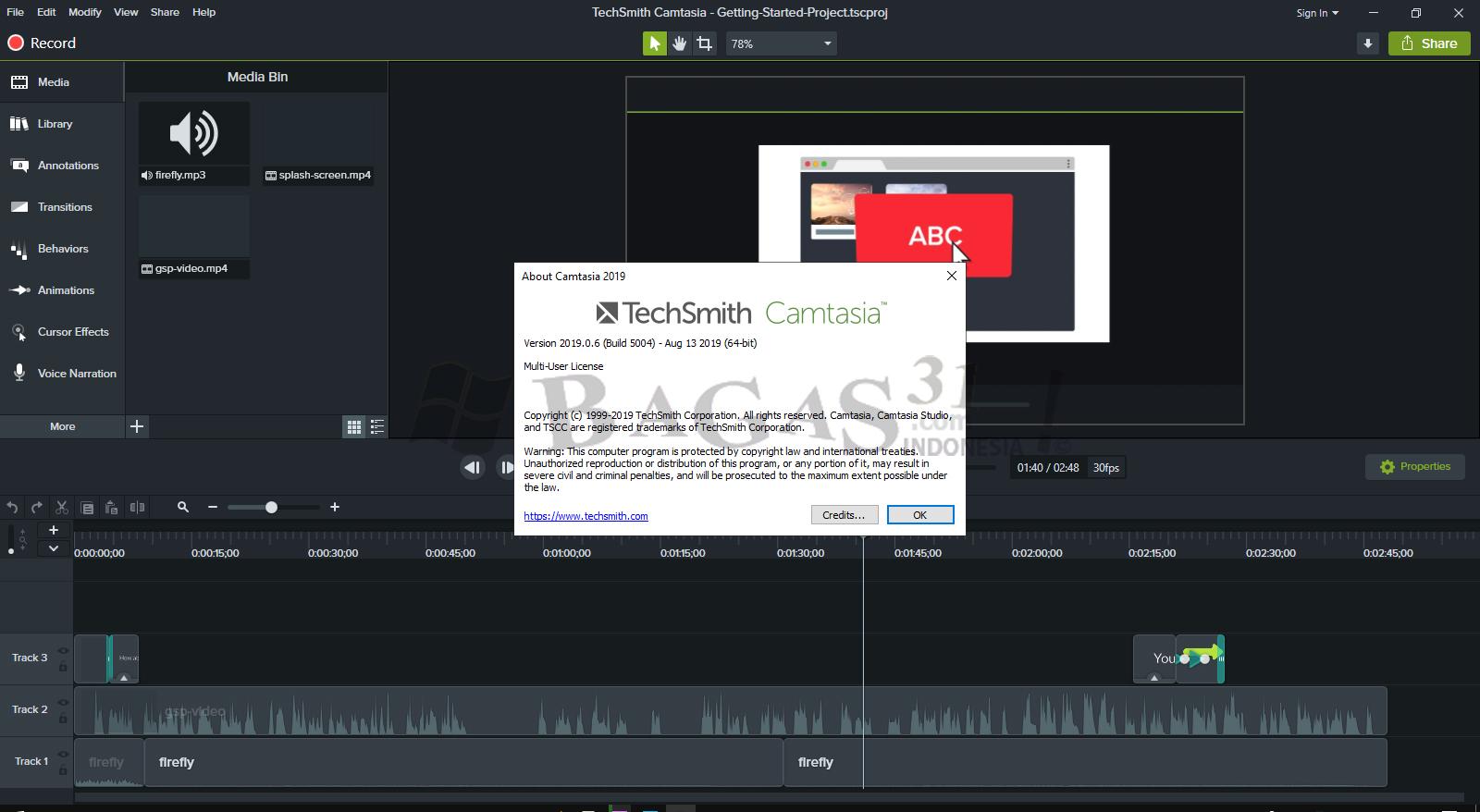 TechSmith Camtasia 2019.0.6 Build 5004 Full Version