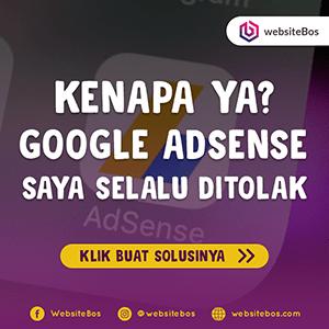 Rahasia Diterima Google Adsense
