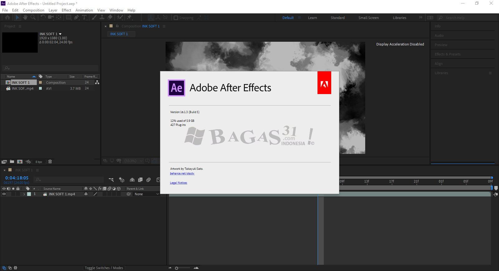 Adobe After Effects CC 2019 v16.1.3.5 Full Version