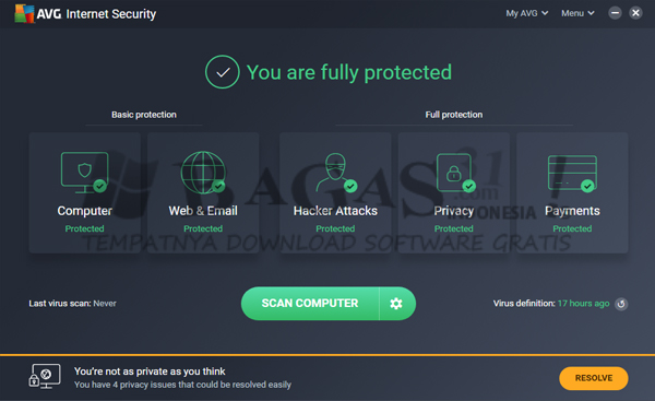 AVG Internet Security 19.7.3103