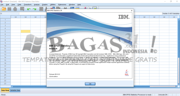 IBM SPSS Statistics 26 Full Version