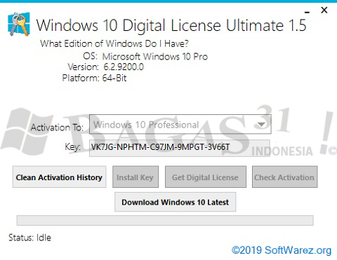 Windows 10 Digital License Ultimate 1.5