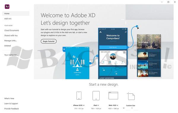 Adobe XD CC 2020 Full Version - BAGAS31